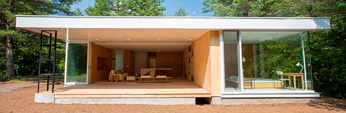 無印良品カンパーニャ嬬恋キャンプ場の家具の家