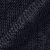 Belgian Linen V-neck Cardigan Sweater: Navy