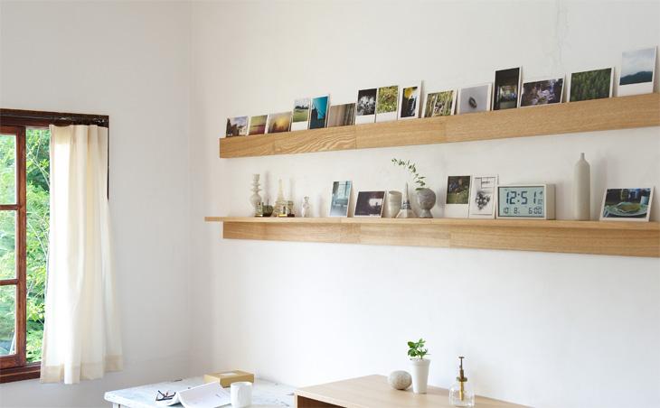 壁にかけられる家具