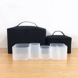 2001年 ナイロンメイクボックス、2004年 ポリプロピレンメイクボックス | くらしの良品研究所 | 無印良品