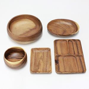 2004年 木製食器(アカシア)