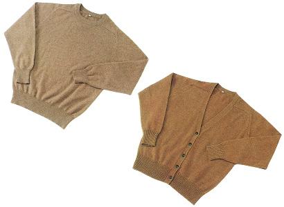 1984年 まんまの色 キャメル・アルパカ・カシミヤセーター