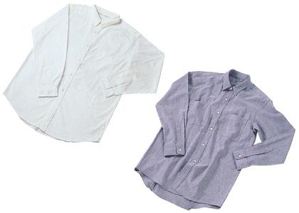 1983年 洗いざらしシャツ、1984年 洗いざらしダンガリーシャツ