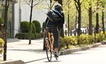 自転車を楽しむ