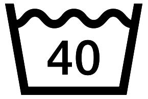 40 洗濯 マーク
